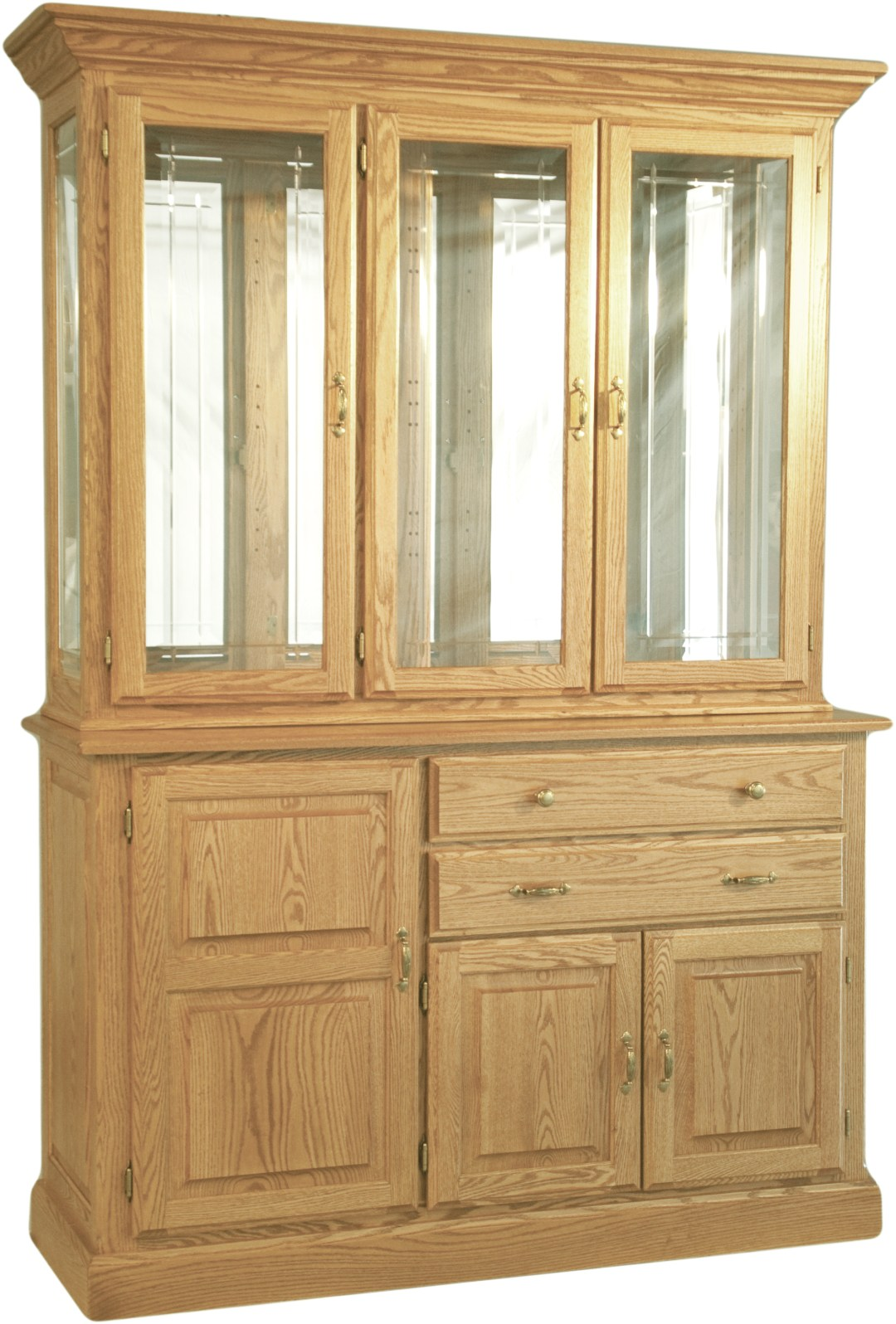 Traditional Town & Country Hutch and Base