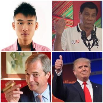 Trump Brexit Duterte