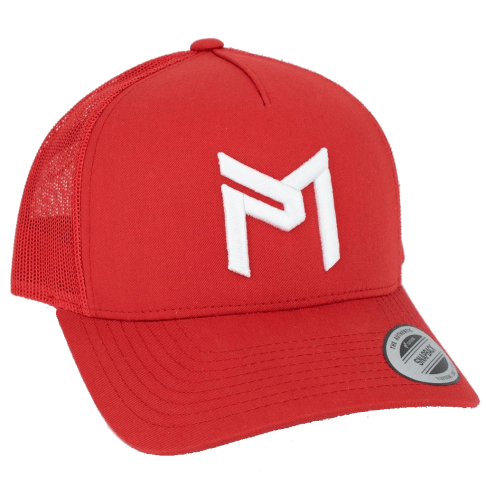 Discraft Paul McBeth Trucker Hat Red