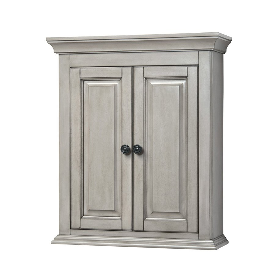 "Foremost 24"" Corsicana Bathroom Wall Cabinet  Antique"