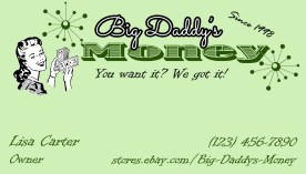 Big Daddy's Money - Logo and Card Design