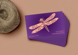Dragonfly Cafe - Logo and Business Card Design