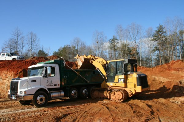 grading excavation in catawba county