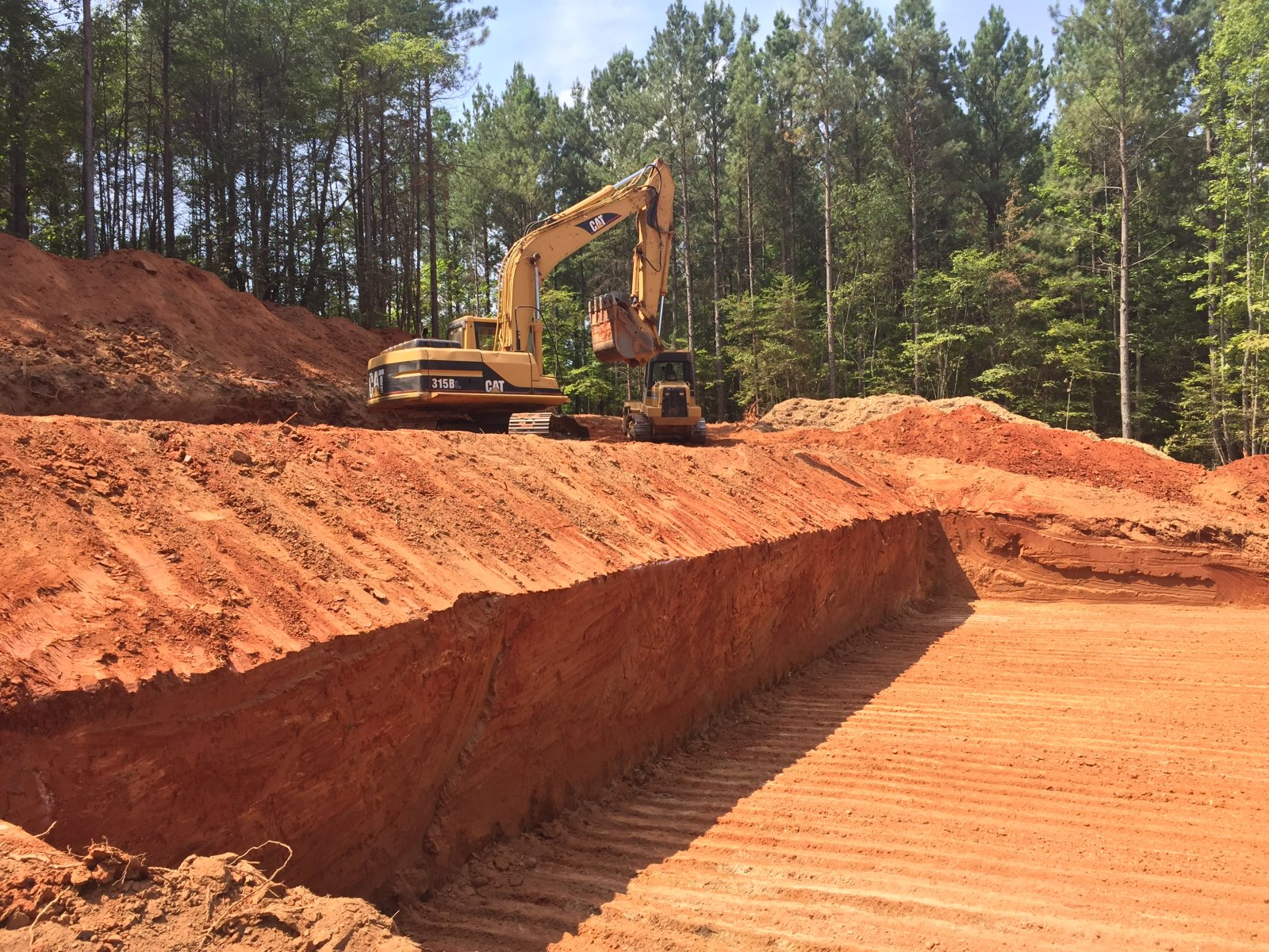 Basement Excavation  Hickory Nc