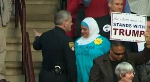 muslim woman ejected