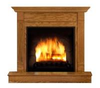 Fake Fireplace Life Size Cardboard Cutout Standup