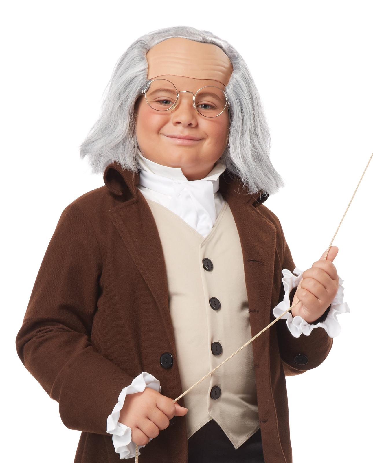 George Washington Benjamin Franlin Colonial School Play