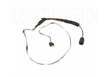 This front left door wiring harness from Omix-ADA fits 07