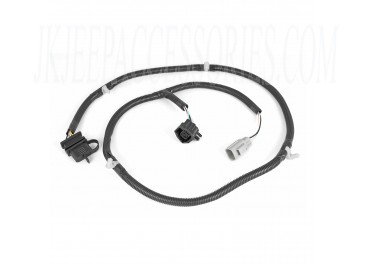 Trailer Wiring Harness 07-17 Jeep Wrangler JK