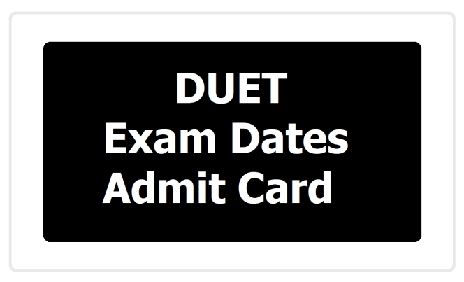 Delhi University DU UG Entrance Exam Date 2020
