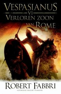Verloren zoon van Rome Boek omslag