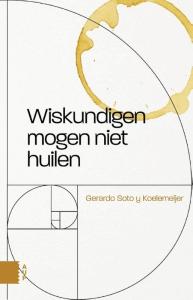 Wiskundigen mogen niet huilen Boek omslag