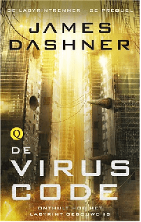 De viruscode Boek omslag