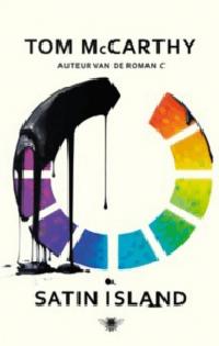 Satin Island Boek omslag