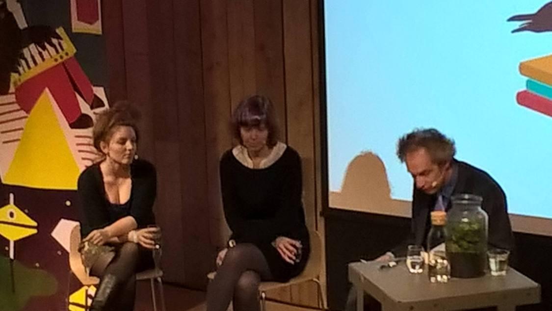 Lize Spit, Julia Deck en Arjan Peters