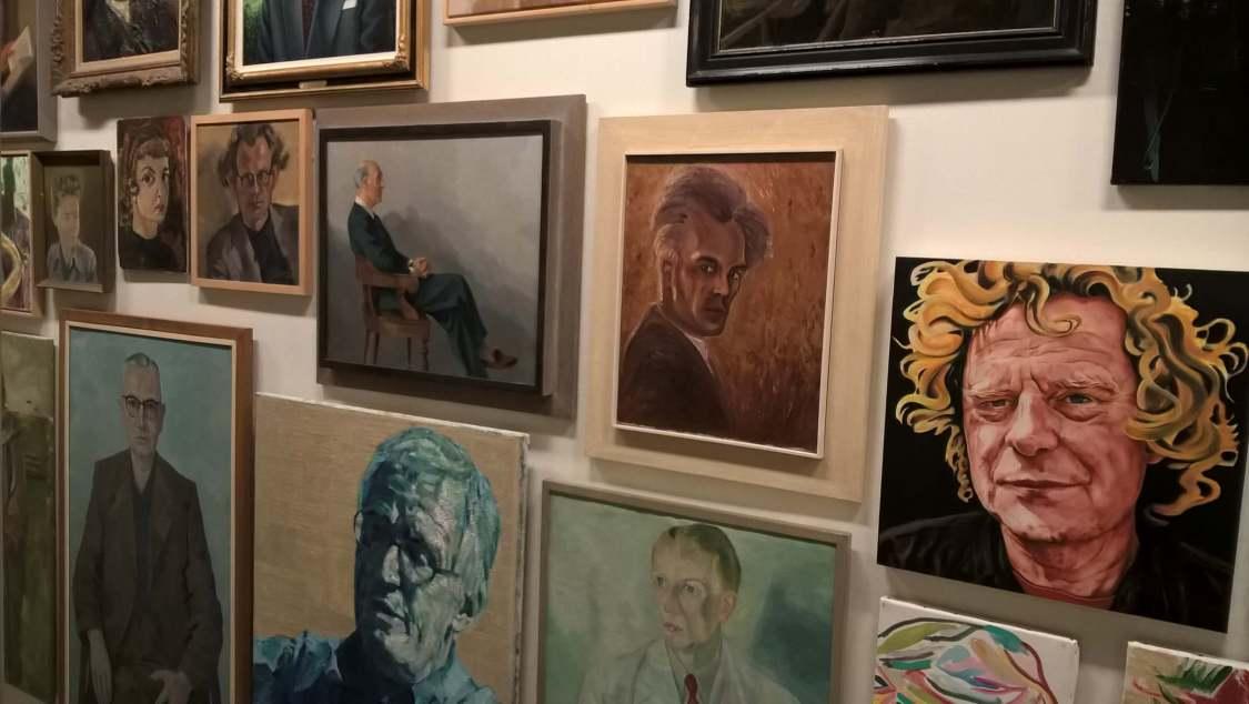 Portretten van schrijvers