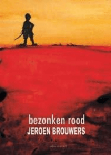 Bezonken rood Boek omslag