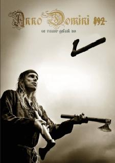 Anno Domini 892 - rauw geluk Boek omslag