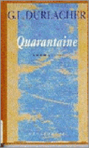 Boek Cover Quarantaine