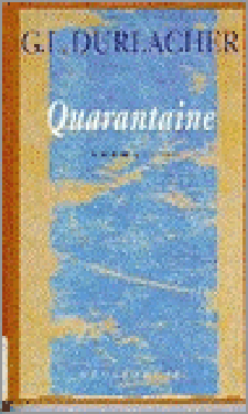 Book Cover: Quarantaine