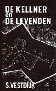 De kellner en de levenden Boek omslag