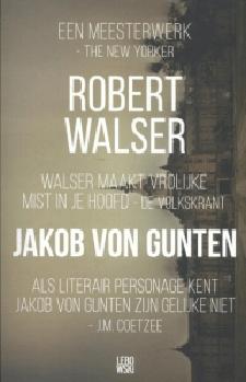 Jakob von Gunten Boek omslag