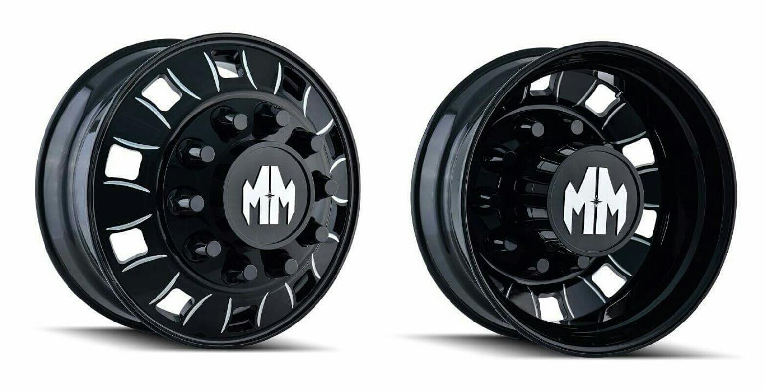 Mayhem BIG RIG Semi Dually Wheels Rims Peterbilt International Freightliner Mack Chevy Chevrolet Dodge Ford Trucks