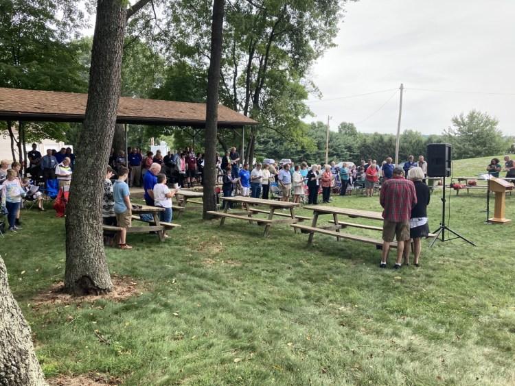 August Outdoor Worship
