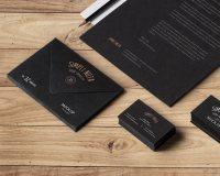 Elegant Corporate Stationery Design  JKreativ Flat