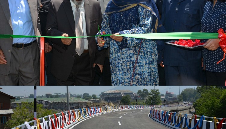 Mehbooba throws open first phase of Srinagar Expressway Corridor