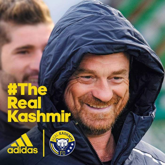 Playing in I-League puts Kashmir on football map in india: David Robertson