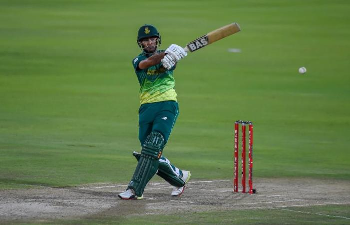 South Africa win by 13 runs on the DLS method