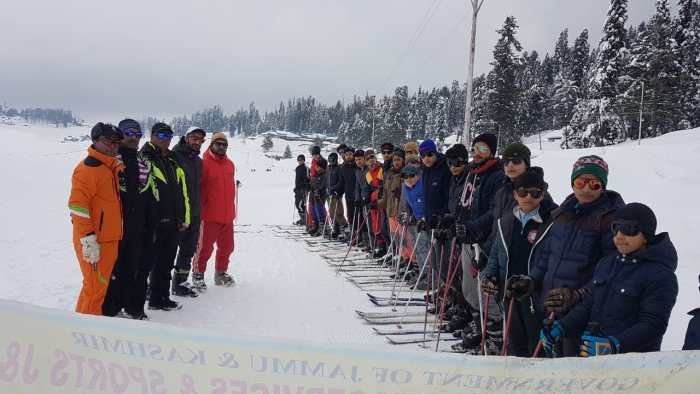 106th basic skiing course in full swing at Gulmarag