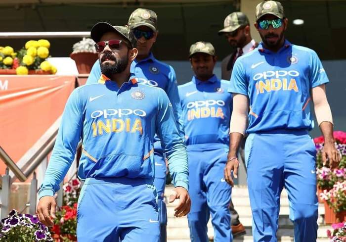 ICC had allowed Indian cricketers to wear military camouflage caps