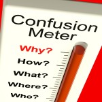 Confusion Meter Shows Indecision And Dilema