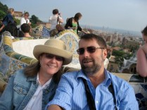 In Barcelona before our Century Cruise
