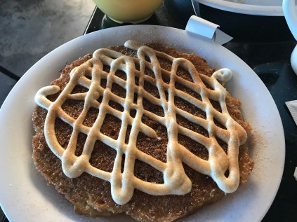 The Snickerdoodle pancake
