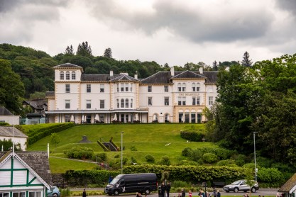 A hotel in Lake Windermere