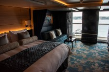 Inside a typical verandah stateroom