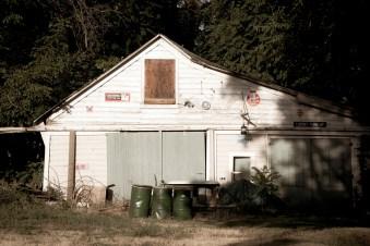 The garage!