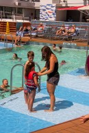 The kids liked the pool and their Mom appreciated the RCL life vests