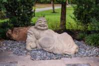 We were surprised they had Jabba the Hut in the Morikami Gardens