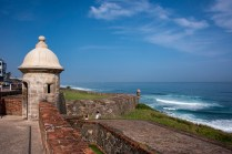 Part of one of the two forts in Old San Juan
