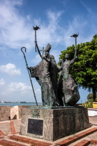 Another stature in Old San Juan