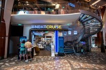 The Next Cruise offices on the Royal Promenade