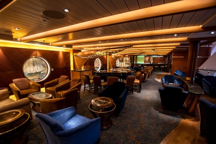 The Schooner Bar on the upper Royal Promenade