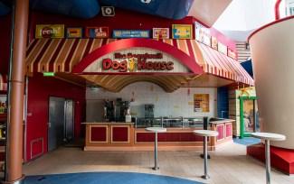On The Boardwalk–a hotdog stand
