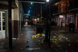 The remains of Lundy Gras