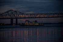 Ferry across the Mississippi