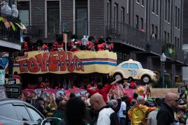 The theme for this parade was movies.